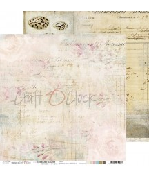 Papier do scrapbookingu Hummingbird Song 04 Craft O'Clock
