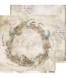Papier do scrapbookingu Hummingbird Song 05 Craft O'Clock
