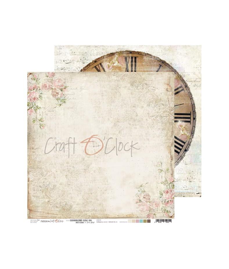 Papier do scrapbookingu Hummingbird Song 06 Craft O'Clock