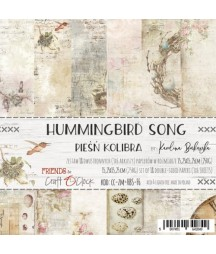 Zestaw papierów do scrapbookingu Craft O'Clock, Hummingbird Song