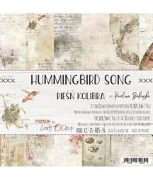 Zestaw papierów do scrapbookingu Craft O'Clock, Hummingbird Song