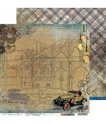 Papier do scrapbookingu Age of Technology 02 Craft O'Clock