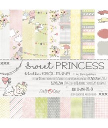 Zestaw papierów do scrapbookingu Craft O'Clock, Sweet Princess