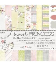 Zestaw papierów do scrapbookingu Craft O'Clock, Sweet Princess
