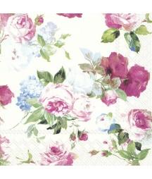 Serwetka do decoupage - Róże 2