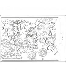 Forma do mas strukturalnych A5 Stamperia, Mapa świata