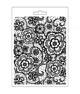 Forma do mas strukturalnych A5 Stamperia, Kwiatowy witraż