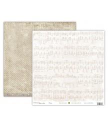Papier do scrapbookingu UHK Gallery, Avonlea Winter - Piano