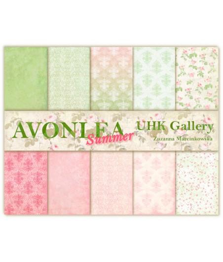 Zestaw papierów do scrapbookingu UHK Gallery, Avonlea Summer 30,5x30,5