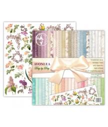 Zestaw papierów do scrapbookingu 12x12, Avonlea day by day - ed. jubileuszowa [UHK]