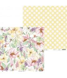 Papier do scrapbookingu P13, The Four Seasons Spring 01