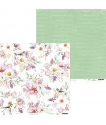 Papier do scrapbookingu P13, The Four Seasons Spring 04