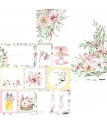 Papier do scrapbookingu P13, The Four Seasons Spring 05