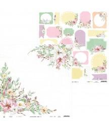 Papier do scrapbookingu P13, The Four Seasons Spring 06