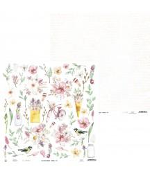 Papier do scrapbookingu P13, The Four Seasons Spring 07
