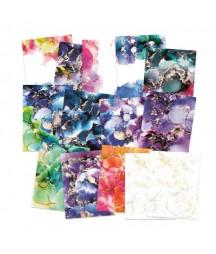 Zestaw papierów do scrapbookingu 6x8, Marble P13