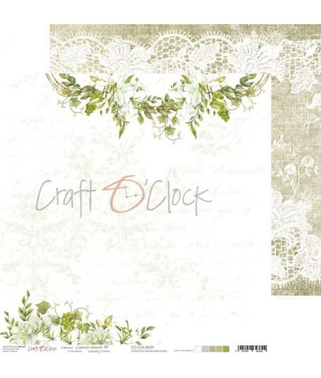 Papier do scrapbookingu Celebrate Moments 01 Craft O'Clock
