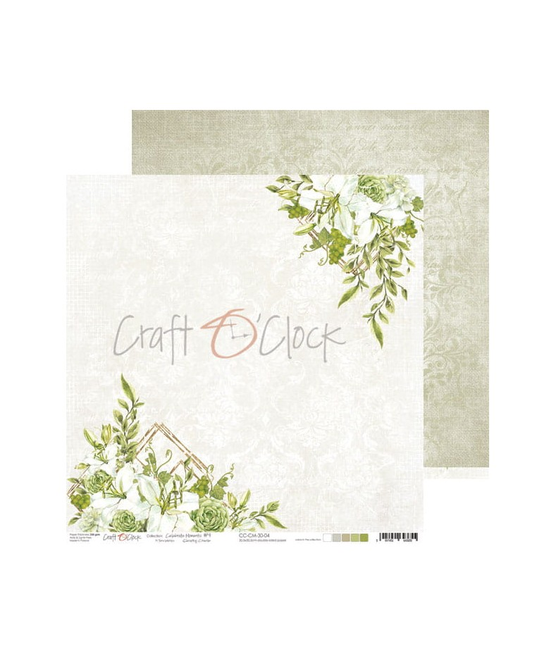 Papier do scrapbookingu Celebrate Moments 04 Craft O'Clock