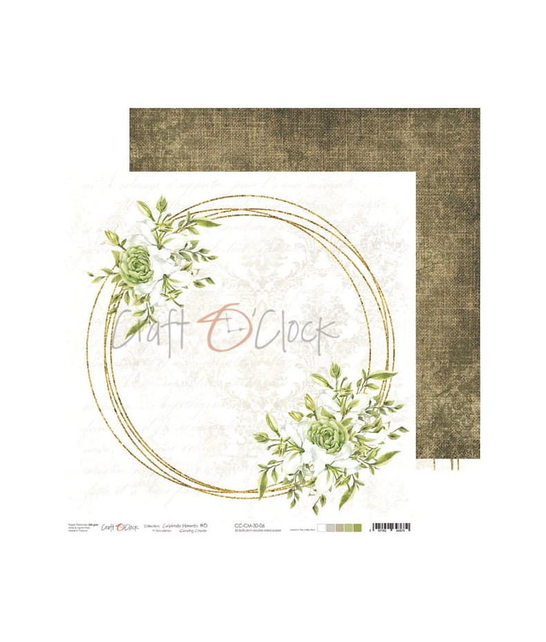 Papier do scrapbookingu Celebrate Moments 06 Craft O'Clock