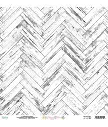 Papier do scrapbookingu 12x12, Happy Place 03 - Mintay Papers