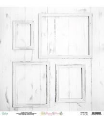 Papier do scrapbookingu 12x12, Happy Place 04 - Mintay Papers