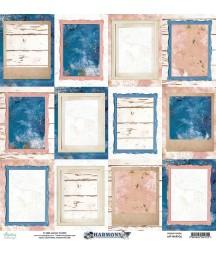 Papier do scrapbookingu 12x12, Harmony 06 - Mintay Papers