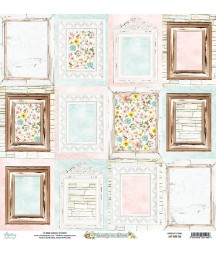 Papier do scrapbookingu 12x12, Beauty in Bloom 06 - Mintay Papers
