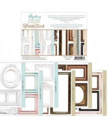 Papiery do scrapbookingu z elementami do wycinania, Frame Book - Mintay Papers