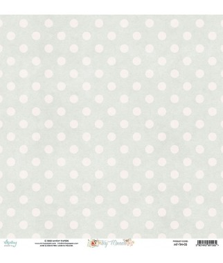 Papier do scrapbookingu Mintay Papers - Tiny Miracle 05 - druga strona