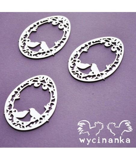 Wycinanka - A little bit of swirls - pisanki