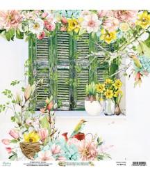 Papier do scrapbookingu Mintay Papers - Beauty in Bloom 02