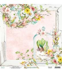 Papier do scrapbookingu Mintay Papers - Beauty in Bloom 03