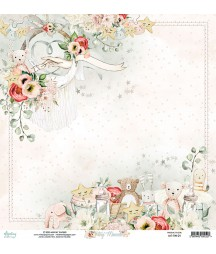 Papier do scrapbookingu Mintay Papers - Tiny Miracle 01