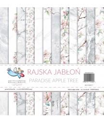 Zestaw papierów do scrapbookingu Rajska Jabłoń 12x12 - Galeria Papieru