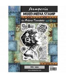 Stempel gumowy Stamperia WTKAT09 - Antonis Tzanidakis