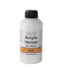 Lakier matowy dla artystów - Daily Art - 500 ml
