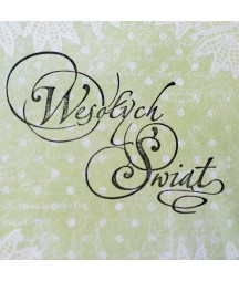 Stempel akrylowy do scrapbookingu Wesołych Świąt 11 - Agateria
