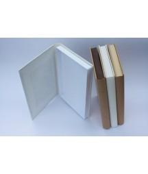 Pudełko Magic Book - baza do ozdabiania Eco-Scrapbooking, biała perła