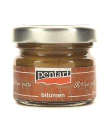 Pasta postarzająca Antique Paste Pentart 20 ml, złoty antyczny