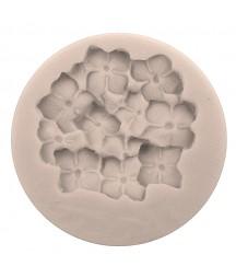 Forma silikonowa do decoupage - hortensja
