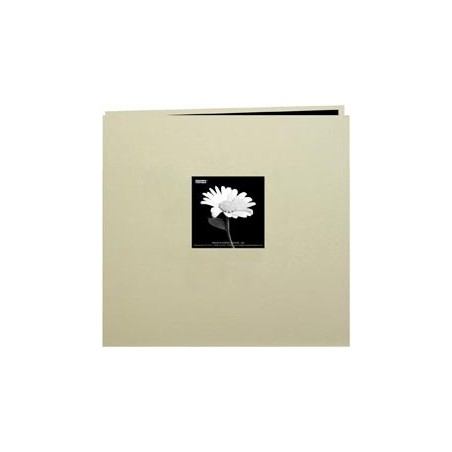 "Album do scrapbookingu 8""x8"", Book Cloth Cover Postbound Album, Biscott Beige"