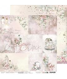 Papier do scrapbookingu Craft O'Clock Love Me Forever - arkusz z kartami