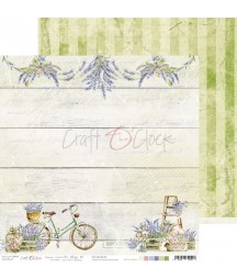 Papier do scrapbookingu Lavender Bliss 01 Craft O'Clock