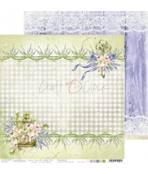 Papier do scrapbookingu Lavender Bliss 02 Craft O'Clock