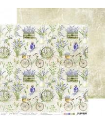 Papier do scrapbookingu Lavender Bliss 05 Craft O'Clock