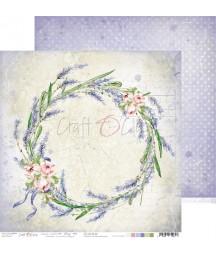 Papier do scrapbookingu Lavender Bliss 06 Craft O'Clock