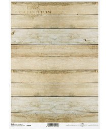 Papier ryżowy do decoupage A4, Deski podłogowe parkiet - ITD R1690