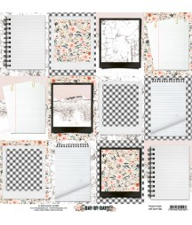Papier do scrapbookingu Mintay Papers 12x12, Day by Day 06 tył