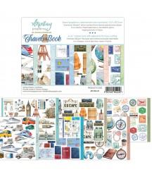 Papiery do scrapbookingu z elementami do wycinania, Travel Book - Mintay Papers