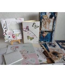 Kit do scrapbookingu - zestaw kartkowy